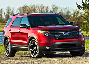 2014 Ford Explorer Sport 365 horspower Ecoboost twin turbo V6